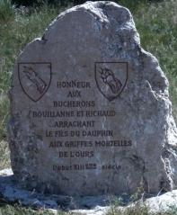 Bouillanne-Stele
