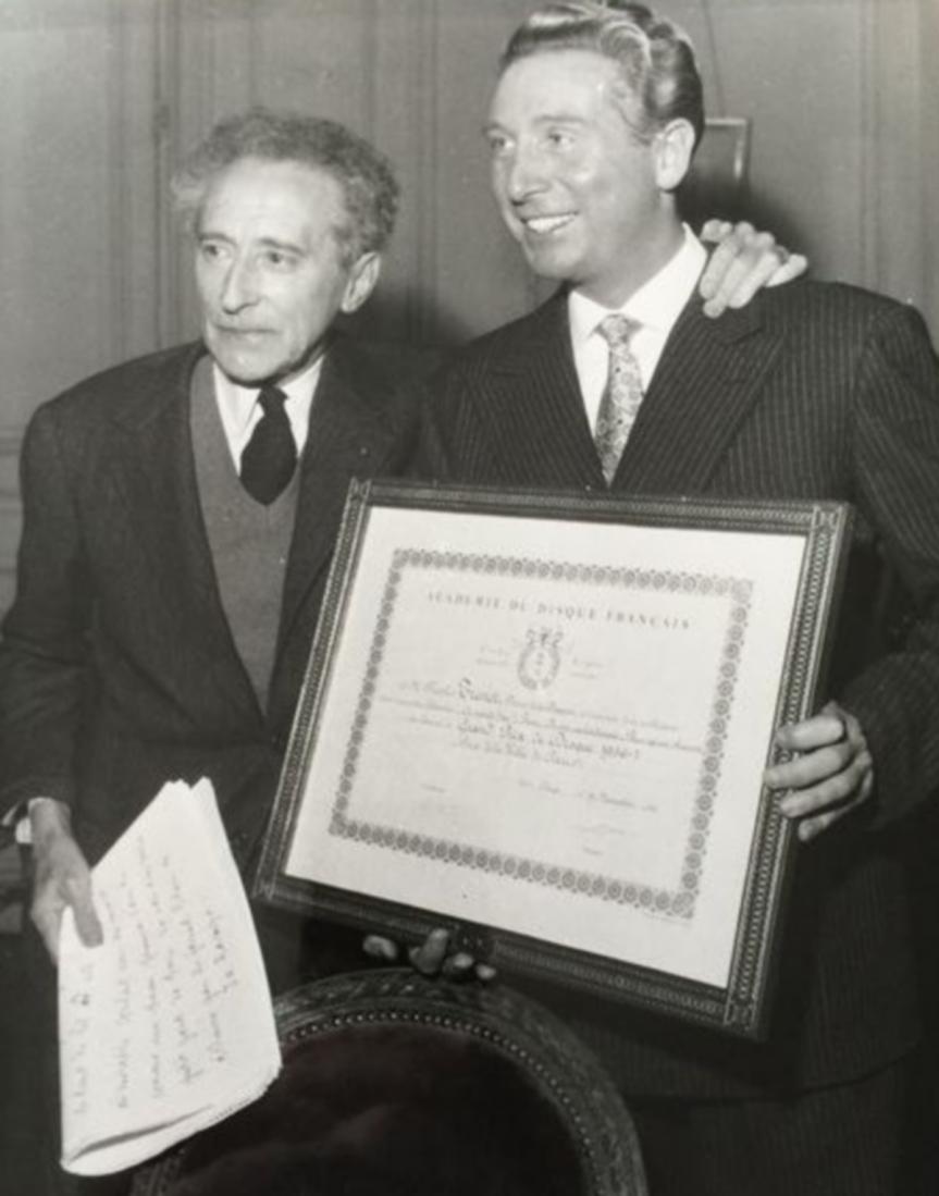 Charles Trenet et Jean Cocteau