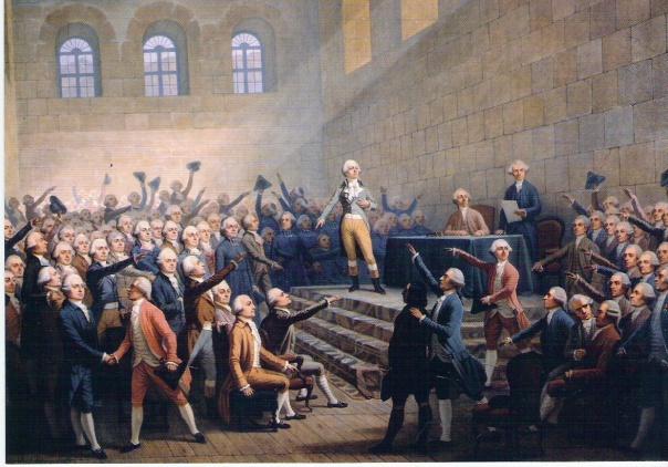 Assemblée des trois ordres du dauphiné - Vizille, 1788.