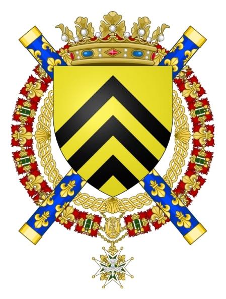 Chevalier du Saint-Esprit - François Gaston de Lévis