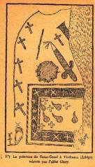 Vic de Sos - Peinture rupestre