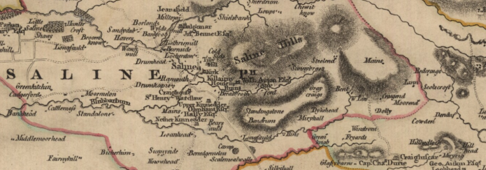 Ainslie, John, 1745-1828 - Counties of Fife and Kinross with the Rivers Forth and Tay 1775