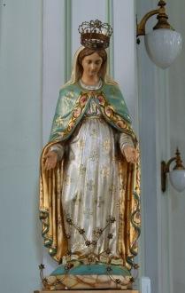 Statue religieuse (Notre-Dame du Cap). © Musée des religions du monde 2010