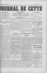 Journal de Cette - 29 février 1888