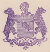 Le blason de Pierre Paul Henri Dominique Boyer de Bouillane.
