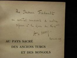 Henry de Bouillane de Lacoste (dédicace)