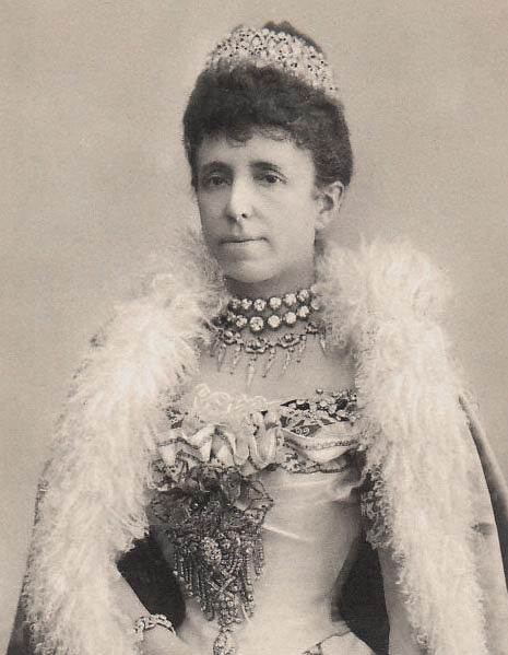 La Reine consort d'Espagne Marie-Christine d'Autriche