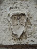 Croix templière dans la Cour de la Commanderie à La Rochelle