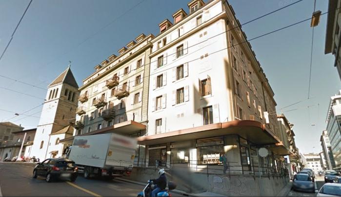 L'immeuble de Jeanne Faucon, rue du Temple, à Genève - La famille Boulianne a demeuré dans cet immeuble et Jeanne y est décédée.