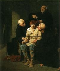 Le Dernier des Mérovingiens par Évariste-Vital Luminais, Musée des Beaux-Arts de Carcassonne.
