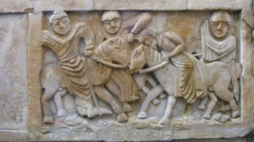 Le récit du magistrat Jeantin, « Assassinat du roi Dagobert II (679) dans la forêt de Woëpvre », est un vibrant hommage au roimérovingien
