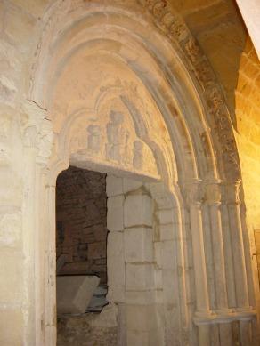 Portail de l'église Saint-Dagobert (IXème - XIIème siècle)