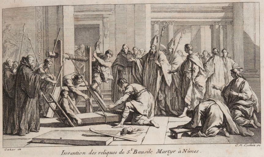 Guy Boulianne a fait l'acquisition d'une gravure de 1733 représentant Sigisbert VI dit Ursus, vicomte de Nîmes en878