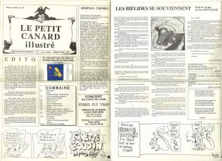 Le Petit Canard Illustré (No. 5, 1ère année, février-mars 1994)