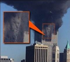 Le visage d'Ahriman serait apparu dans la fumée des tours après le sacrifice du 11 septembre 2001 qui marque le départ de sa venue.
