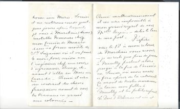 04. Correspondance de Henriette de Belgique, duchesse de Vendôme et d'Alençon