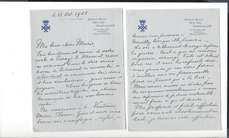 10. Correspondance de Henriette de Belgique, duchesse de Vendôme et d'Alençon