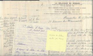 11. Correspondance de Henriette de Belgique, duchesse de Vendôme et d'Alençon