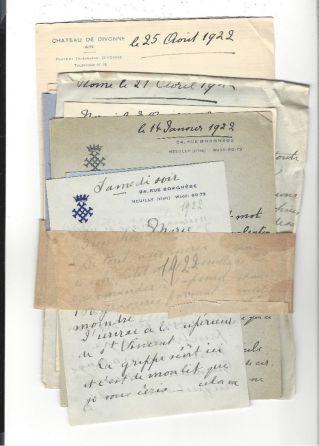 12. Correspondance de Henriette de Belgique, duchesse de Vendôme et d'Alençon