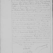 2. Acte de naissance de sa jumelle (1870)