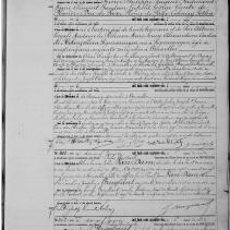 3. Henriette de Belgique - Acte de décès de sa jumelle (1871)