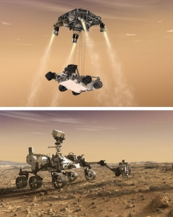 Rover Pit Stop - Mars 2020