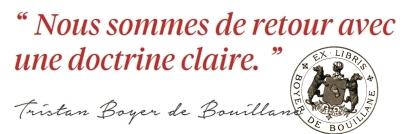 Tristan Boyer de Bouillane - Signature (Ex-libris)