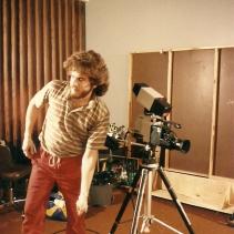 Guy Boulianne, réalisateur de l'émission « Écriture d'ici » (RAEA).
