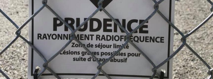 Réseau 5G / Gatineau / tour en construction sous surveillance / Danger / $$$ contre silence pour les propriétaires deterrain