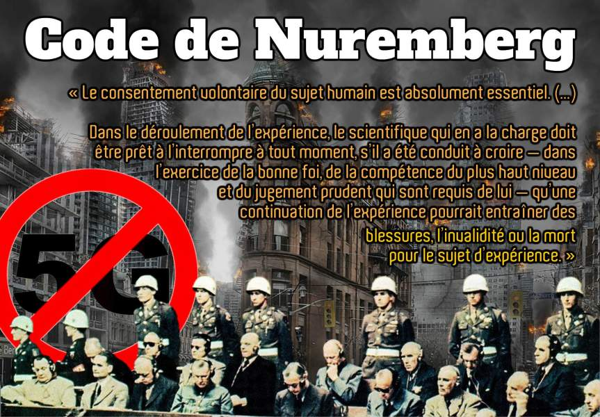 Le Code de Nuremberg et le consentement éclairé comme préalableabsolu