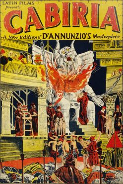 Cabiria (1914) - The Temple of Moloch (low)