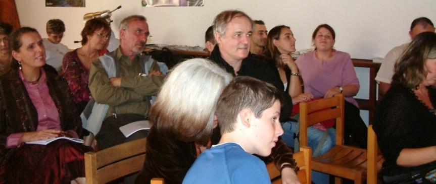 SOUVENIR — Guy Boulianne et les Mille Poètes à Carcassonne le 14 octobre2006