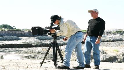 Le tournage du film Anunnaki