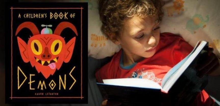 Un livre qui enseigne aux enfants comment conjurer les démons est mis envente