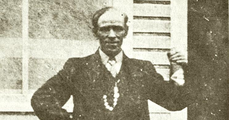 Le légendaire Alexis Lapointe, dit le Trotteur, cousin germain de GuyBoulianne