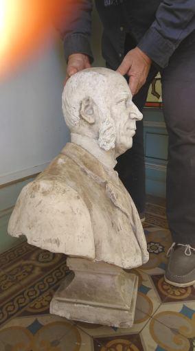 Buste (plâtre) de Paul Boyer de Bouillane