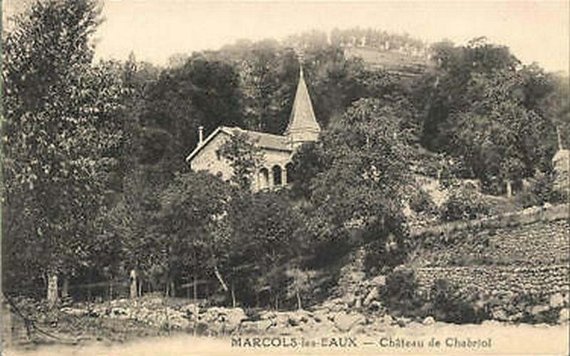 Château de Chabriol, Marcols-les-Eaux, Ardèche - 01