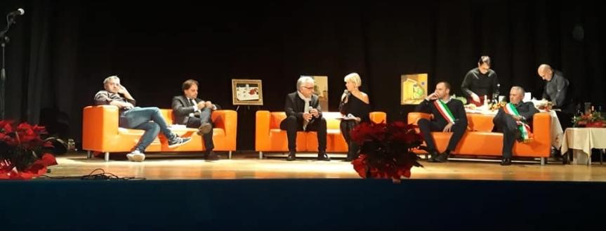 Entrevue de l'auteur Giovanni Cristofalo lors du salon littéraire de SeleneCoccato