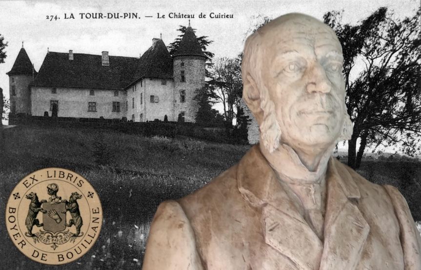 Un buste à la mémoire de l'avocat à la Cour d'Appel de Paris, Paul Boyer deBouillane