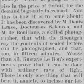 Bouillane - The Honolulu Advertiser (Honolulu, Hawaii), Thursday, April 02, 1896 (extrait)