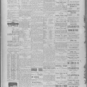 Bouillane - The Honolulu Advertiser (Honolulu, Hawaii), Thursday, April 02, 1896 - Page 8