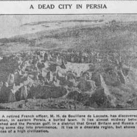 Henry de Bouillane de Lacoste - The Beloit Daily Call (Beloit, Kansas) Monday, September 14, 1908 (extrait)