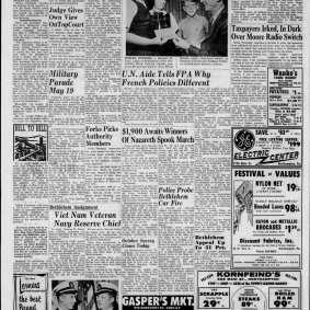 Jean-Noël de Bouillane de Lacoste - The Morning Call (Allentown, Pennsylvania) Friday, October 08, 1965 - Page 10