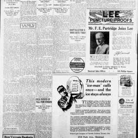 Maurice Bouillane - The Gazette (Montreal, Quebec) Friday, June 11, 1926 - Page 5