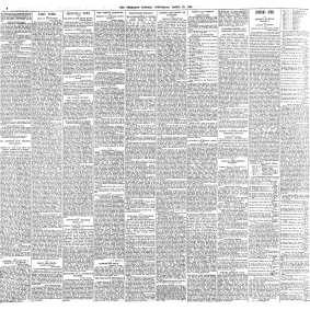 Paul Boyer de Bouillane - The Freeman's Journal (Dublin, Ireland) Wednesday, March 22, 1899 - Page 6