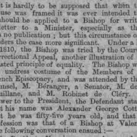 Paul Boyer de Bouillane - The Standard (London, Greater London, England) Saturday, December 04, 1880 (extrait 2)