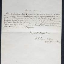 Autographe de Philoxène Boyer - L.A.S., Paris, sd, à un ami