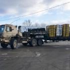 Convoi militaire dans les régions de Québec et de Charlevoix