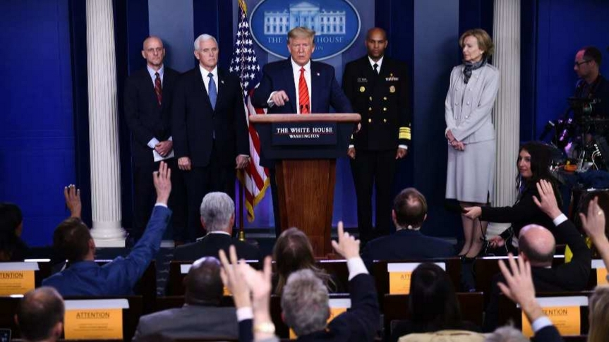 Le président des États-Unis, Donald Trump, n'est désormais plus le président en exercice — Les pouvoirs exécutifs ont été remis à laFEMA