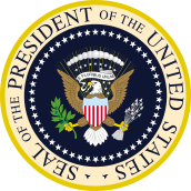 Le sceau du président des États-Unis